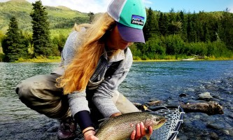 Great alaska adventure lodge fishing day trips Great Alaska ak org dolly girl2019