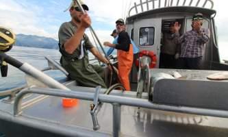 Great alaska adventure lodge fishing day trips alaska halibut fishing deck view2019