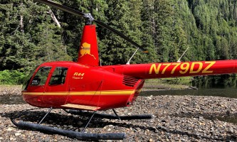 Helicopter Air Alaska Mahoney Lake landing22019