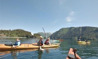 Alaska yacht charters Kayaking