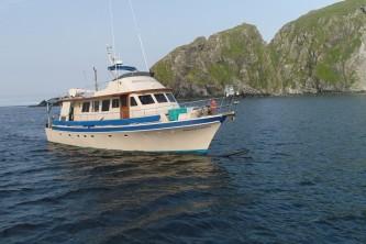 Alaska yacht charters Outer Limits