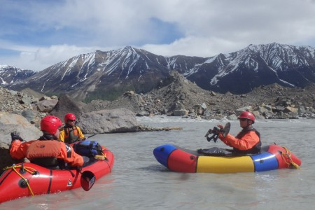 Kennicott Wilderness Guides Packrafting Tours