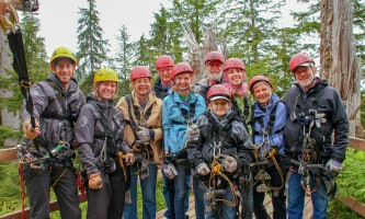 Zipline KTN Aerial Zip Group Photo 5