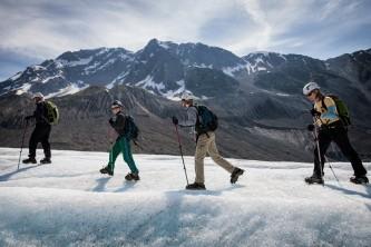 Exit glacier guides helicopter glacier hiking 3