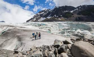Exit glacier guides helicopter glacier hiking 13