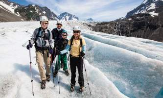 Exit glacier guides helicopter glacier hiking 5