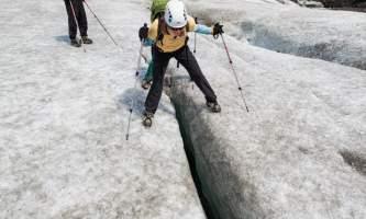 Exit glacier guides helicopter glacier hiking 7