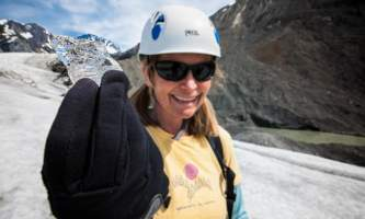 Exit glacier guides helicopter glacier hiking 8