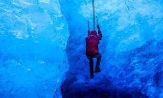 Exit glacier guides ice climbing 5