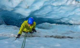 Exit glacier guides ice climbing 9