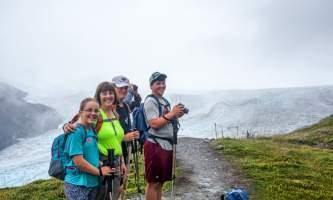 Exit glacier guides nature hike 5