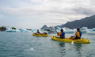 Alaska Bear Glacier Kayaking0011 bear glacier kayaking trip