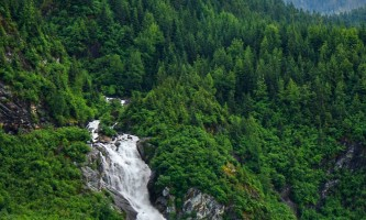 2021 Mendenhall Glacier Ice Adventure Tour Jason Nugget Falls