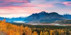 Best of Alaska Fall Landscapes, Glaciers & Moose Photo
