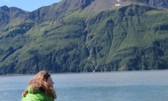 Alaska whittier North Pacific Expeditions Nuka Passage Peg at rail north pacific expeditions
