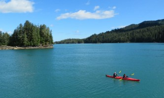 Alaska whittier North Pacific Expeditions Tonsina Bay kayaking north pacific expeditions