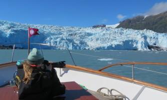 Alaska whittier North Pacific Expeditions Chenega glacier Photographer Sara north pacific expeditions