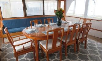 Alaska whittier North Pacific Expeditions Sea Star Dining Salon north pacific expeditions
