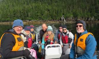 Alaska whittier North Pacific Expeditions Hidden Bay Prime Rib ride north pacific expeditions