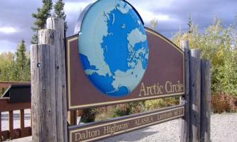 Warbelows Arctic Circle Sign Steffanie Reed 2007 0512019