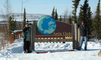 Northern AK Tour Co Arctic Circle Sign2019