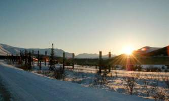 Northern AK Tour Co Pipeline in the Arctic2019