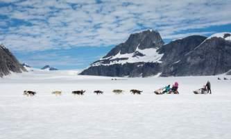 Northstar trekking glacier dog sled adventure CB3 9197