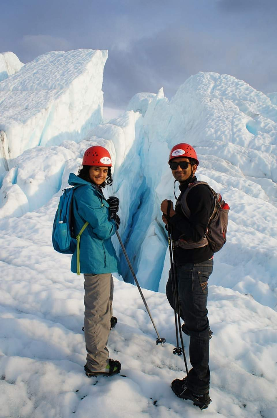 Explore one of Alaska's largest road-accesible glaciers by foot