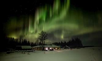 Leslie Paws for Adventure pics for Alaska Channel tolovana aurora