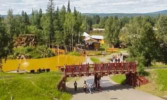 Alaska July 4 mining valley Alaska Channel Pioneer Park