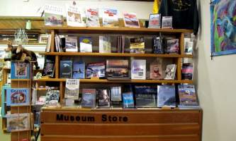 Alaska Museum Store entrance Pratt Museum