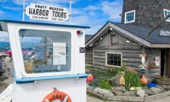 Alaska Pratt Wheelhouse on the Homer Spit Pratt Museum