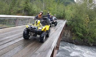 Riding alaska atv tours