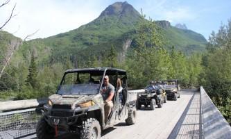 Riding alaska atv Alaska Channel 5