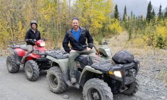 Riding alaska atv Alaska Channel