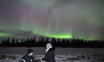 Salmon berry tours northern lights