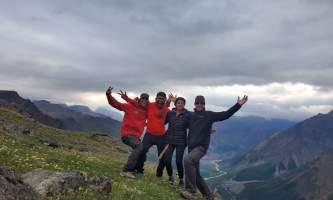 St elias alpine guides Alaskan Tundra