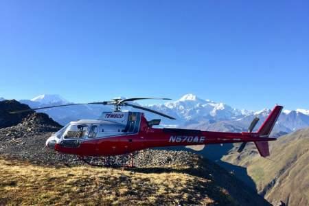 TEMSCO Helicopters Denali Heli Hike