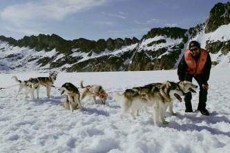 Alaska temsco skagway dog sledding glacier flightseeing by helicopter James Nolan Dog Camp 1 TEMSCO Skagway Dog Sledding and Glacier Flightseeing