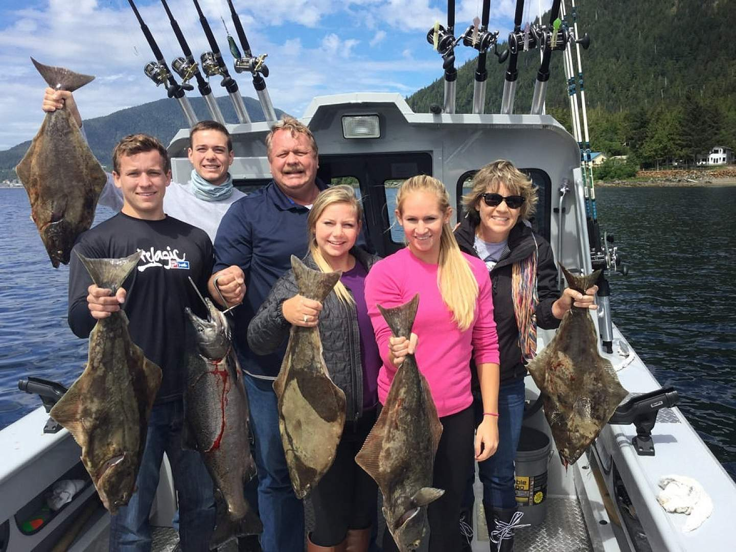 Fishing Charters in Ketchikan operate May til September with trips starting at 2 hours
