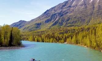 Bradley Gordon Kenai River Drifters Lodge 2 Hour Float