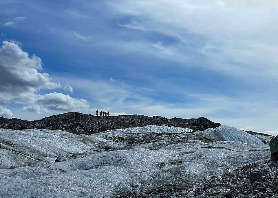 Walking on the Matanuska Glacier is one of Wild Alaska Journey's most popular summer excursions.