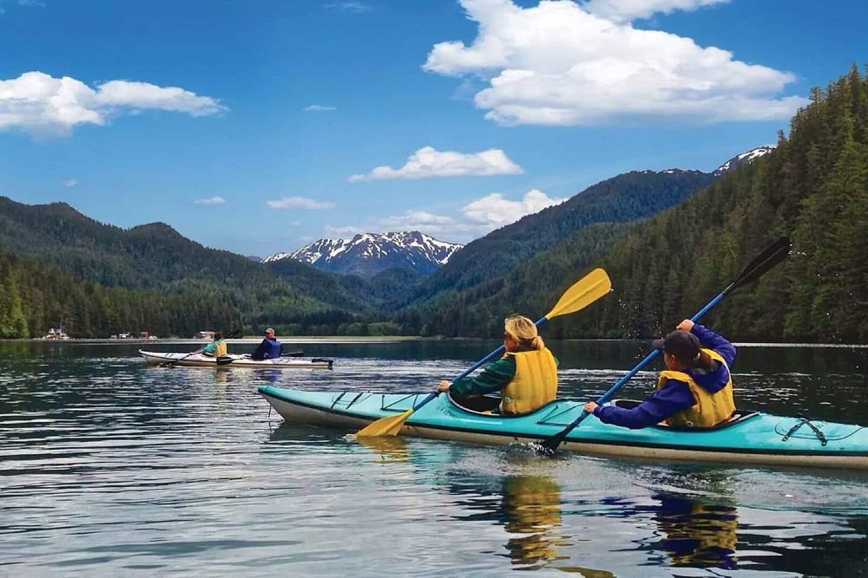 Sightseeing by Kayak with Wilderness Sea Kayaking