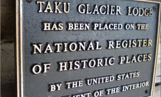 Wings airways taku glacier lodge Register of Historic Places