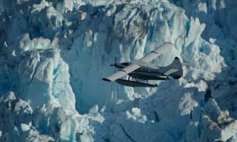 Wings airways taku glacier lodge Deep Crevasses