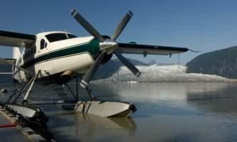 Wings airways taku glacier lodge Docked at the Taku Lodge