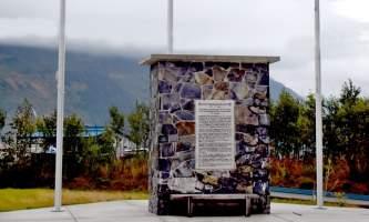 Ak RR Monument alaska railroad whittier ted spencer