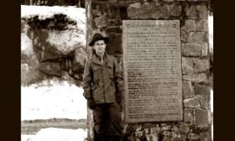 Whittier RR monument 11x14 alaska railroad whittier ted spencer