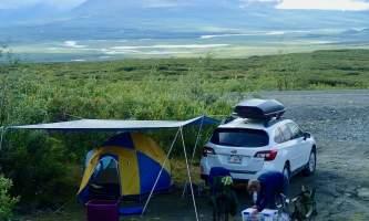 MILE 37 Car camping on Maclaren Summit