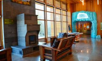 Lobby medium alaska untitled